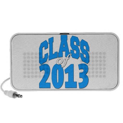 Class of 2013 (blue 2) travelling speaker