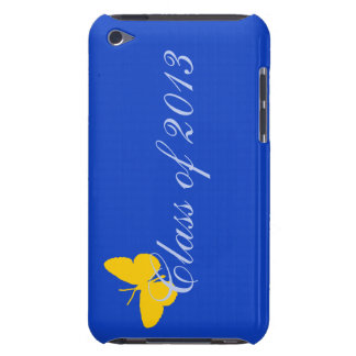 Class of 2013 - Blue and Gold Butterfly iPod Touch Case