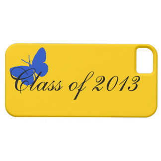 Class of 2013 - Blue and Gold iPhone SE/5/5s Case