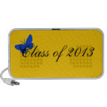 Class of 2013 - Blue and Gold Portable Speakers