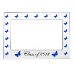 Class of 2013 - Blue and White Magnetic Photo Frames