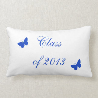 Class of 2013 - Blue and White Throw Pillows