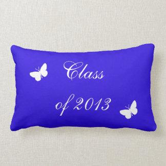 Class of 2013 - Blue and White Pillow