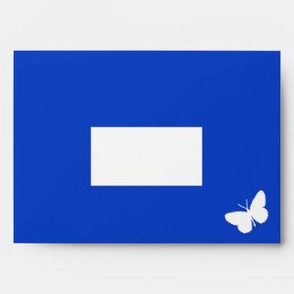 Class of 2013 - Blue Butterfly Envelope