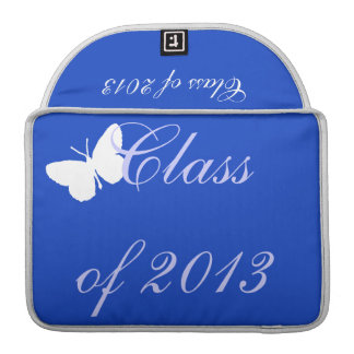 Class of 2013 - Blue Butterfly MacBook Pro Sleeve