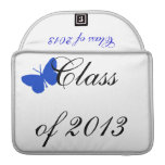 Class of 2013 - Blue Butterfly MacBook Pro Sleeves