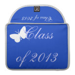 Class of 2013 - Blue Butterfly Sleeve For MacBook Pro