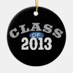 Class Of 2013 Blue Christmas Tree Ornament