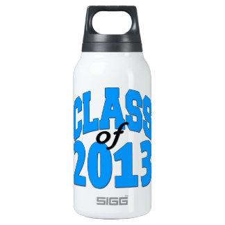 Class of 2013 (blue ) insulated water bottle