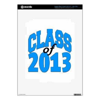 Class of 2013 (blue ) iPad 3 skin