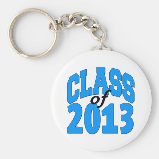Class of 2013 (blue ) keychain