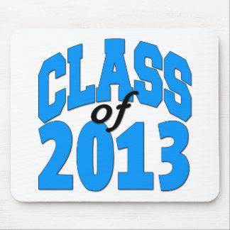 Class of 2013 (blue ) mouse pad