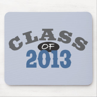 Class Of 2013 Blue Mouse Pad