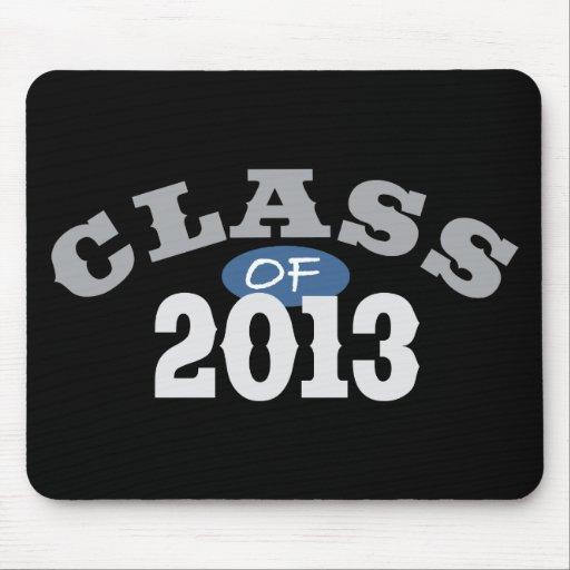 Class Of 2013 Blue Mousepad