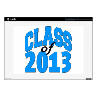 """Class of 2013 (blue ) skins for 15"""" laptops"""