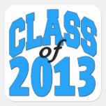 Class of 2013 (blue ) sticker