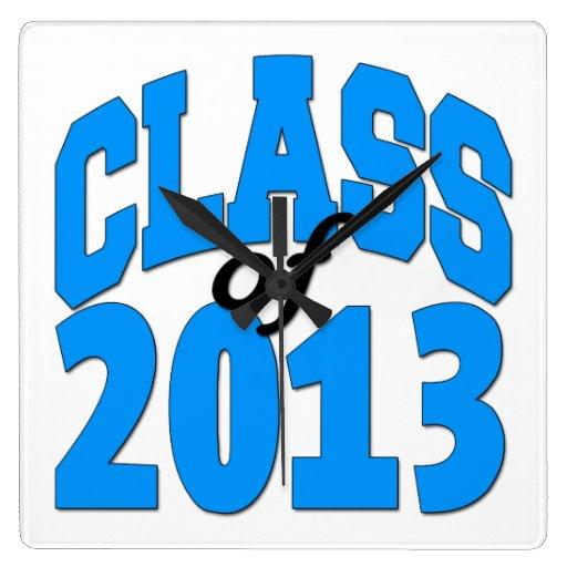 Class of 2013 (blue ) wallclock