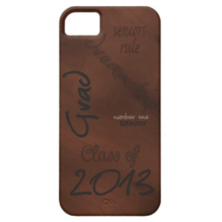 Class of 2013 Brown Urban Mobile Device Case
