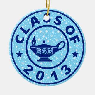 Class of 2013 BSN Ceramic Ornament