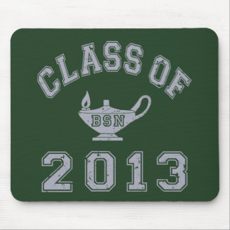 Class Of 2013 BSN - Grey 2 Mouse Pad