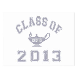 Class Of 2013 BSN - Grey 2 Postcard