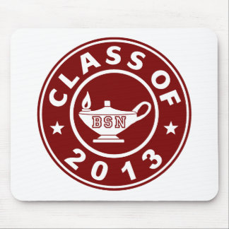 cLASS oF 2013 bsn Mouse Pad