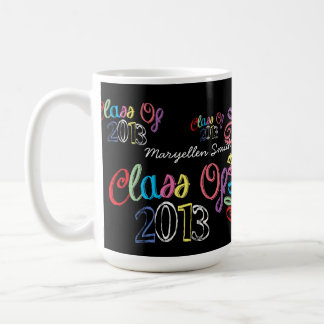 Class of 2013 Chalkboard Typography Mug