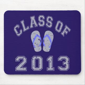 Class Of 2013 Flip Flop - Grey/Blue 2 Mouse Pad