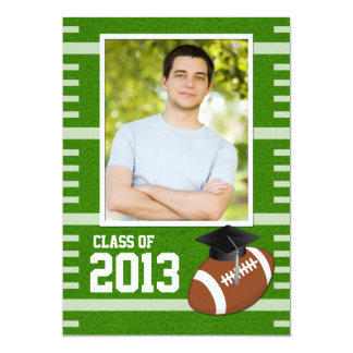 Class of 2013 Football Graduation Card
