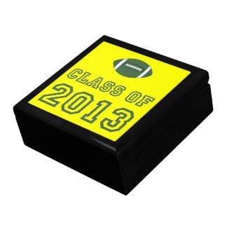 Class Of 2013 Football - Green 1 Keepsake Box