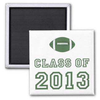Class Of 2013 Football - Green 1 Magnet