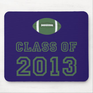 Class Of 2013 Football - Green 1 Mouse Pad
