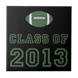 Class Of 2013 Football - Green 1 Tiles