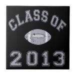 Class Of 2013 Football - Grey 2 D Tile