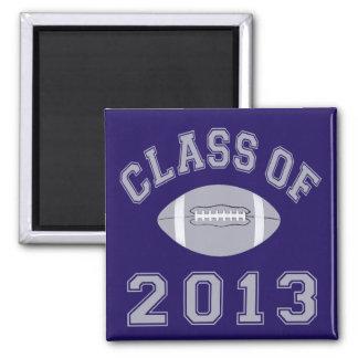 Class Of 2013 Football Magnet