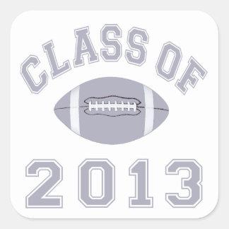 Class Of 2013 Football Sticker