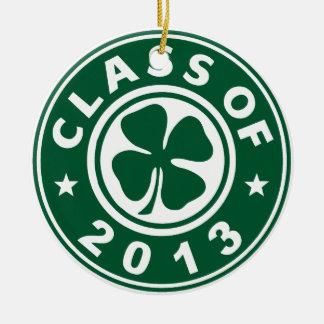 Class Of 2013 Good Luck Ceramic Ornament