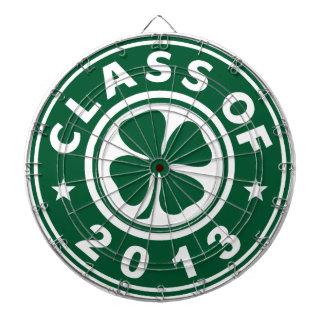 Class Of 2013 Good Luck Shamrock Dartboard