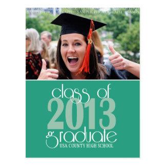 Class of 2013 Graduation Announcement Postcard
