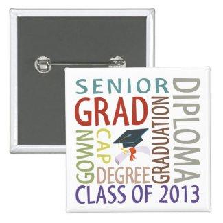 Class of 2013 Graduation Button