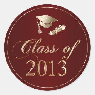 Class of 2013 Graduation Cap & Diploma Seals