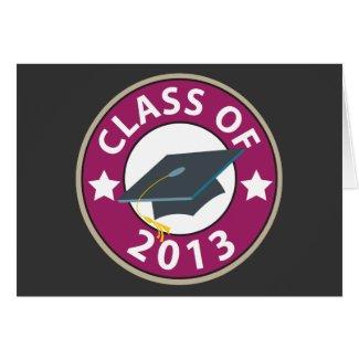 Class of 2013 Graduation Greeting Cards