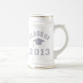 Class Of 2013 Graduation - Grey Beer Stein