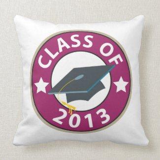 Class of 2013 Graduation Pillow