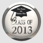 Class Of 2013 Graduation Stickers