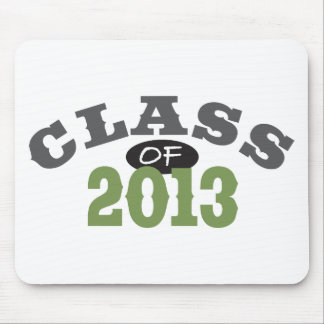 Class Of 2013 Green Mouse Pad
