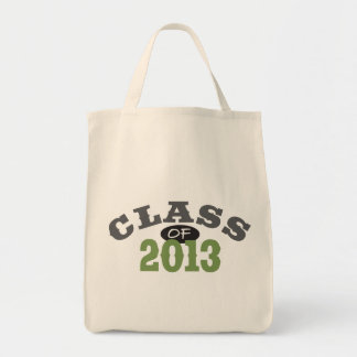 Class Of 2013 Green Tote Bag