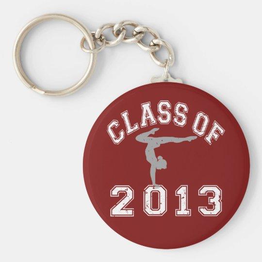 Class Of 2013 Gymnastics Keychain