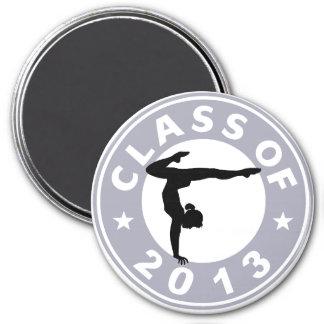 Class Of 2013 Gymnastics Refrigerator Magnets