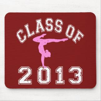 Class Of 2013 Gymnastics Mouse Pad